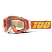 Kacamata Motor Cross - Trail - MX - MTB Goggle 100percent The Racecraft  Razmataz Orange Clear b39abc0518
