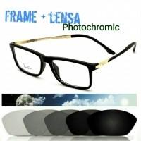 Kacamata photochromic Casual Frame Kacamata Baca Paket Lensa minus  (26709075) 95f7ae9bc2