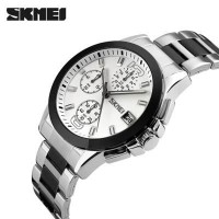 Jam Tangan Pria Original SKMEI 9126 Putih Anti Air   Seiko Rolex (26741081) 56e1709d40