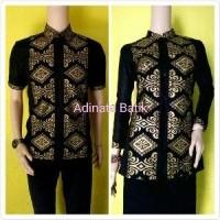 Baju atasan hem batik sarimbit atau couple pra da jajar kombinasi (27688576) 99a9e24956