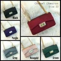 Rekomendasi Tas Chanel Chevron Size M  Mini Bag Chanel  Tas Mini Lucu Tas c82108ca4b