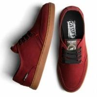 Sepatu geoff max original 100%Authentic maroon gum (24310564) 6af573267f