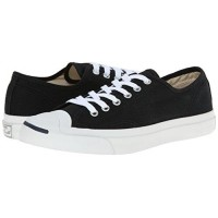 c5b68e4487db Converse Chuck Taylor Jack Purcell Black White Canvas size M5.5 W7