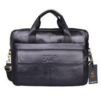 c5e74b541933 VIDENG POLO Hotest Men s Top Genuine Leather Handmade Briefcase Shoulder  Messenger Business Bag (CP-