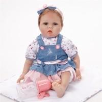 Daftar harga 10 Inci Boneka Bayi Perempuan Bahan Silikon Bulan Maret ... 8cdad458a3