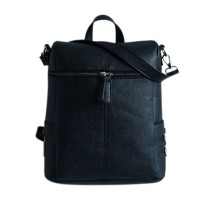 Fashionable Women PU Leather Backpack Rivets Bag Casual Student Backpack 25468cb263