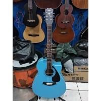 Gitar Akustik Jumbo Taylor Warna Birumuda Murah Jakarta
