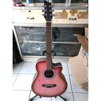 Gitar Akustik Sunkay Slim Pink Ibanez Jakarta Murah