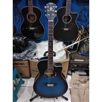 Gitar Akustik Yamaha Tipe APX500 Sunburst Blue Jakarta Murah