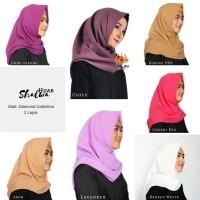 Daftar Harga Jilbab Instan Shalwa 2 Lapis Bahan Diamond Bulan