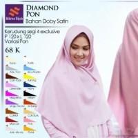 Daftar Harga Jilbab Kerudung Segi Empat Diamond Square Bulan