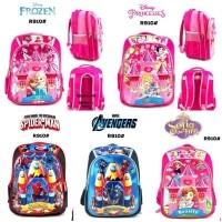 Tas Ransel Anak sekolah Backpack karakter cewek dan cowok R910 0a62243da8