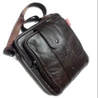 Tas selempang kulit asli jeep impor - tas pria kulit - tas kerja kulit 17633a2182