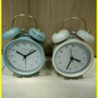 Jam Weker Jam Alarm Jam Meja Bell Alarm Alarm Clock e1264c7dee