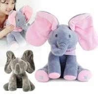 Boneka Peek A Boo Gajah Cilukba Elephant Doll Plush Toys Peekaboo 03cea32257