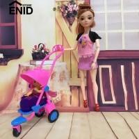 Orgenidstore Mainan Boneka Barbie Bahan Plastik untuk Rumah Boneka Barbie d002d25c28