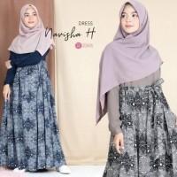 Model Gamis Batik Kombinasi Untuk Remaja Modelemasterbaru