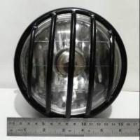 36533311 Reflektor lampu depan/headlamp cb tralis japstyle cafe racer
