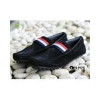 Sepatu Slip-on Casual Pria Terkeren - BLACKMASTER BM 05 - Black (157142950) 41dd00d334