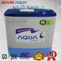 Mesin Cuci 2 Tabung Sanyo Aqua 771xt 192222971