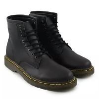 DR marten sepatu pria sepatu boots tinggi sepatu casual pria - hitam  (316652157) 9d2b095a18