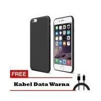 Case Slim Black Matte Iphone 5 5S 5SE Baby Skin Softcase Ultra Thin Jelly  Silikon Babyskin d0c26da1f6