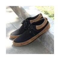 Sepatu Nyaman Casual Pria Style Terbaru Best Seller - JOEY FOOTWEAR GALE -  Black (158790061 849305d489