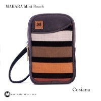 Pusat Tas Etnik Makara Mini Pouch Wanita COSIANA   Pouch Makara 2 Sleting   Makara  Pouch e14677a69a