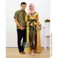 TERMURAH - Baju batik couple - baju muslim wanita terbaru 2018 - kebaya  coupel Modern - adf1282b6d
