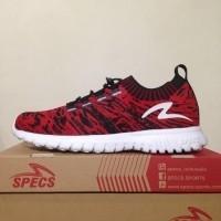 Sepatu Running Lari Specs Overtune Emperor Red Black 200545 Original  (428627858) 637c01352b