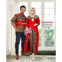 Batik Modern - Baju Muslim Wanita Terbaru 2018 - Kebaya Couple Modern – Couple  Batik – Batik Sarimbit - Batik Kondangan - Baju Batik Couple Ayunda Zafira 0f279230b5