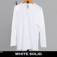 Daftar Harga Kaos Polos Lengan Panjang Putih Ukuran Xl Bulan September 2020