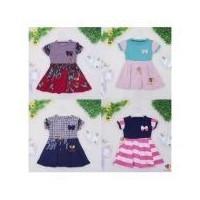 6b70d73d671 Dress Karin uk 4-5th   Dres Lengan Murah Grosir Baju Anak Perempuan