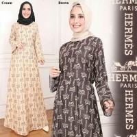 D.N.Y.H Shop MAXI HERMES   Baju Muslim   Kemeja Dress   Tunik   Atasan  Wanita   b7ec73f69a