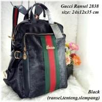 Gucci Ransel 2838   Aneka Tas Ransel GUCCI Terbaru Murah   Tas Cantik Ransel  Wanita   1200e31406