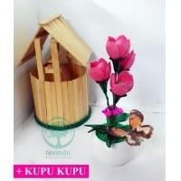 SangAdam-Bunga Akrilik Tulip -hiasan ruang tamu   kantor-bunga palsu-bunga  pajangan-bunga artifisial 2c21dfd6a8
