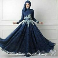 Gamis Syari Pesta Hijab Dress Terbaru Baju Kondangan Muslimah Syari Dress Muslim Gaun Pesta Muslim Kebaya Modern Maxi Dress Brukat Gamis