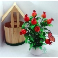 Naindo - Bunga Artifisial hiasan ruang tamu dan kantor-bunga palsu-bunga  Hias-bunga pajangan 089908a0dd