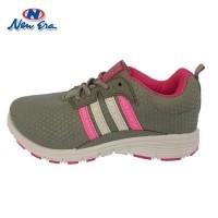 New Era Flanette Sepatu Casual Sepatu olahraga warna Abu Fuschia (430075607) 8142c7cf31