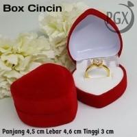 Daftar Harga Love Box Kotak Cincin Perhiasan Bulan September 2020