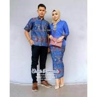 TERMURAH - Batik Couple Modern   Baju Muslim Wanita Terbaru 2018   Gamis  Wanita Terbaru   Couple Batik   Batik Sarimbit   Baju Batik Kondangan   Baju  Batik ... 96b658fde2