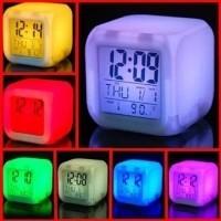 Daftar harga Jam Moody Kubus Berubah 7 Warna Pengukur Suhu Jam Weker ... 955aa18b34
