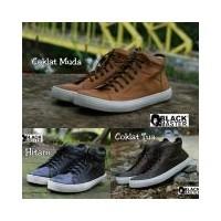 Sepatu Casual Black Master High ARL DC Pria Murah - Sneakers - Santai- Kets  - caf325b2ee