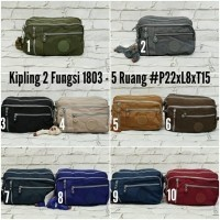 Tas Slempang Pria Wanita Kipling Premium Quality KP-93 (469916222) 0310addfea
