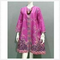 Atasan Wanita Baju Batik Wanita Tunik Baju Kerja Seragam Batik Baju Batik Kantor Seragam Guru Tunik Modern Tunik Batik Terbaru