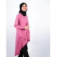 Baju Murah Terbaru Blus Meisya Long Tunik Linen Ruby Panjang Blouse Casual  Hijab Tunic Pakaian Terbaru 2018 Modern Fashion Baju Wanita Lengan Panjang  Atasan ... c373914a5e
